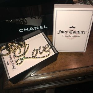 "❤️ ""Love"" purse 👛 charm Juicy Couture ❤️"